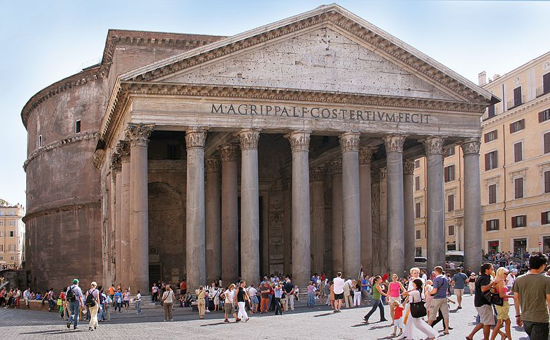 Fichier:Rome Pantheon front.jpg
