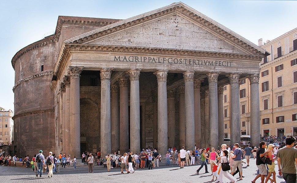 Rome Pantheon front