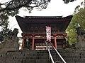 Romon gate of Kitaoka Shrine.jpg