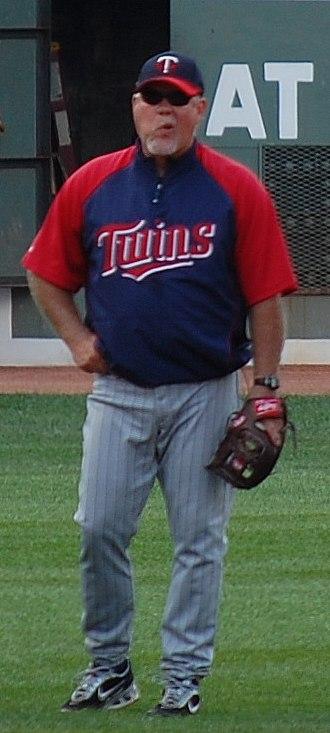History of the Minnesota Twins - Ron Gardenhire, manager of the Minnesota Twins from 2002–2014