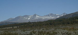 Rondane National Park - Smiubelgen, the western part of Rondane.
