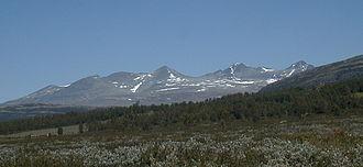 Rondane National Park - Smiubelgen, the western part of Rondane.
