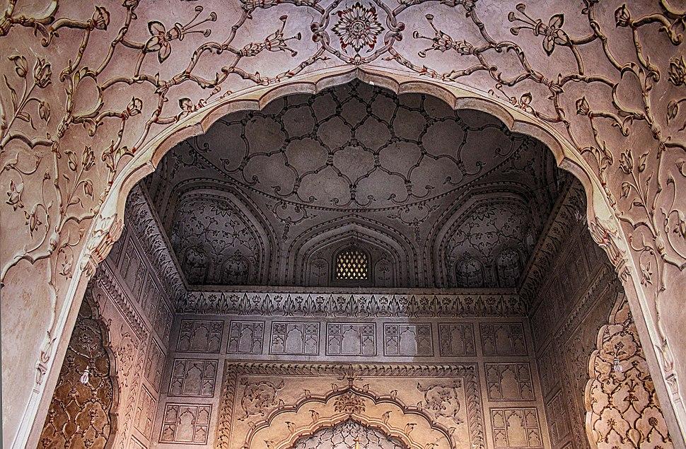Roof of badshahi mosque
