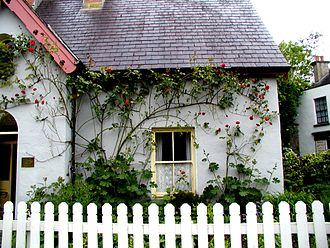 Bunratty - Image: Rose Cottage at Bunratty