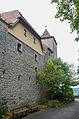 Rothenburg ob der Tauber, Stadtbefestigung, Burggasse 25, 23, Stadtmauer-20121012-001.jpg