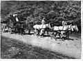 Route d'Épernay à Reims - évacuation de mobilier par des artilleurs - Epernay - Médiathèque de l'architecture et du patrimoine - APTH001946.jpg