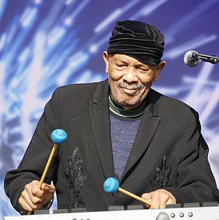 Roy Ayers American funk, soul, and jazz composer, vibraphone player, and music producer