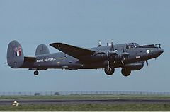 Avro Shackleton AEW.2 należący do Royal Air Force, 1983