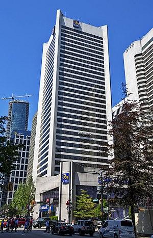 Royal Centre (Vancouver) - The Royal Centre building