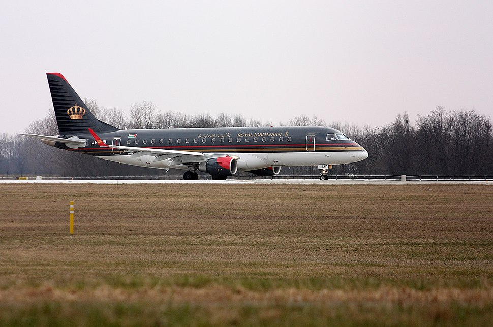 Royal Jordanian Embraer E-Jet