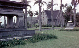 Royal Mausoleum of Hawaii - Mausoleum as seen in 1958