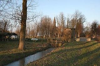 Ruigoord village in North Holland, Netherlands