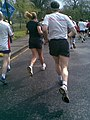 Runners view in the Edinburgh 10k race - geograph.org.uk - 792731.jpg