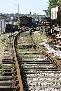 Running line at Rushden, Higham & Wellingborough Railway.jpg