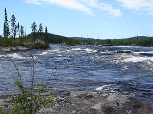 Rupert River - Image: Rupert North Road 2