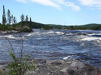 Rupert River - Image: Rupert North Road 2