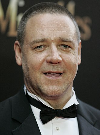Gladiator (2000 film) - Russell Crowe (seen here in 2012) received critical praise for his performance in Gladiator and won the Academy Award for Best Actor.