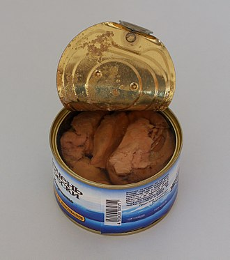 Liver (food) - Canned cod liver