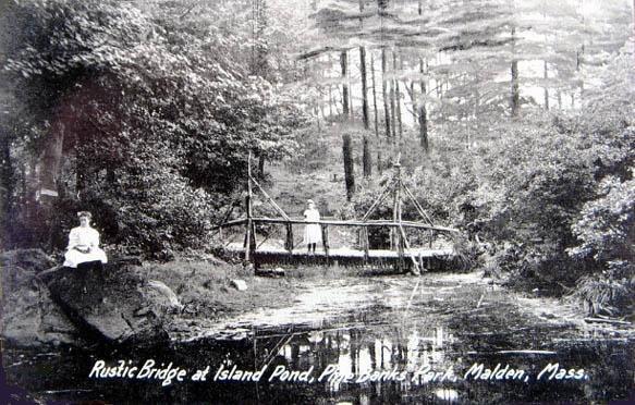 Rustic Bridge, Pine Banks Park
