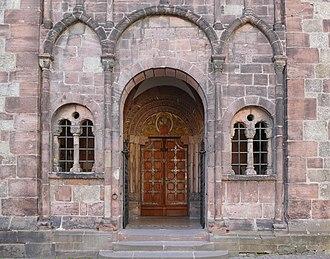 St. Faith's Church, Sélestat - Image: Sélestat Ste Foy 02
