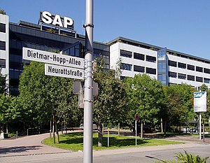 SAP AG Headquarters, Walldorf.