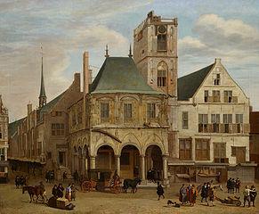 Historical Impression of Former City Hall