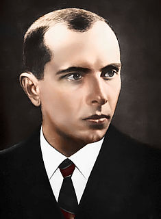 Stepan Bandera Ukrainian Nationalist