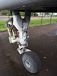 SEPECAT Jaguar XZ357 Nose gear at the Piet Smits collection at Baarlo in Netherlands, pic 7.JPG