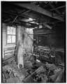 SHED ROOM AT THE REAR, INTERIOR VIEW - Farmhouse, Newmarket, St. Mary's County, MD HABS MD,19-NEMA.V,1-2.tif
