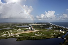 STS-125 and STS-400 on Launch Pads.jpg