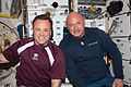 STS-134 ISS-28 Ron Garan and Mark Kelly on Endeavour's middeck.jpg