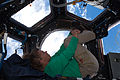 STS-135 Sandy Magnus in the Cupola.jpg