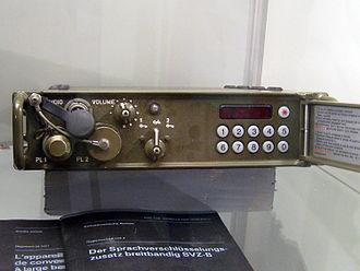 Secure voice - CVX-396 secure voice system, Crypto AG