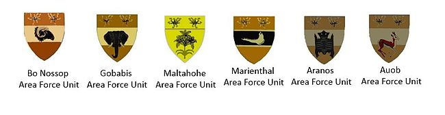 SWATF Sector 50 Area Force Units