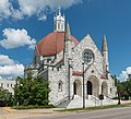 S Perry St First Baptist Church, Montgomery, West view 20160713 1.jpg