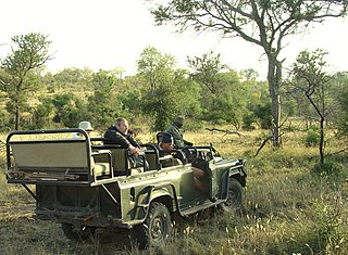 Safari Journey with the aim to hunt safari animals or to observe or photograph them