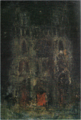 SaekiYūzō-1925-Notre-Dame at Night(Mant-la-Jolie).png