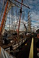 Sail Amsterdam - Veemkade - View ESE along La Recouvrance towards Tall Ship Mir.jpg