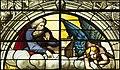 Saint-Chapelle de Vincennes - Baie 0 - Les anges exterminateurs, détail de Dieu et de l'ange (bgw17 0371).jpg