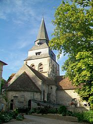 The church of Our Lady, in Saint-Clair-sur-Epte