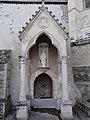 Saint-Erme-Outre-et-Ramecourt (Aisne) église de Saint-Erme (03) oratoire-fontaine contre le chevet.JPG