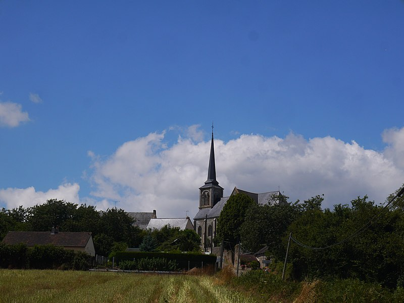 L'église Saint-Thomas.