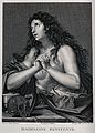 Saint Mary Magdalen. Line engraving by J. Massard after G.B. Wellcome V0032692.jpg