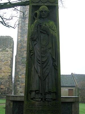 Kilwinning Abbey - Saint Winning