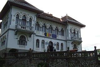 Săliște Town in Sibiu, Romania