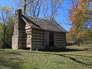 Maryville, Tennessee - Sam Houston Schoolhouse in Maryville