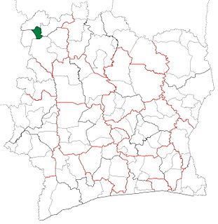Samatiguila Department Department in Denguélé, Ivory Coast
