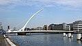 Samuel Beckett Bridge & River Liffey, Dublin (507018) (22840032708).jpg