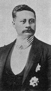 Landowner and businessman on Hawaii