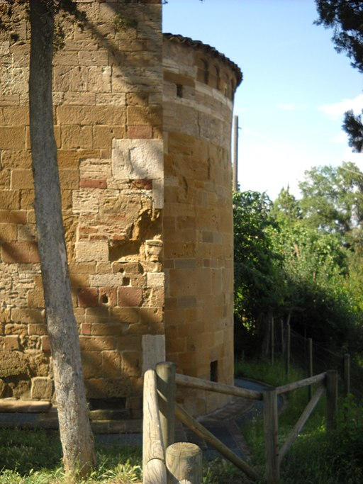 San Giovanni d'Asso, chiesa di San Pietro in Villore, abisde
